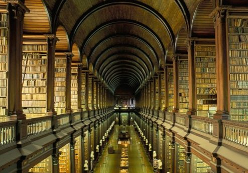 library-hallway